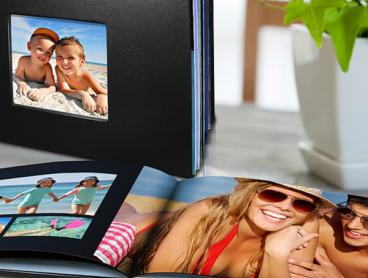 Personalise Your Own Leather-Look Photobook