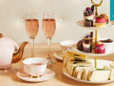 Luxury High Tea with Sparkling Moscato Rosé in Southbank