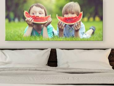 Create Your Own Personalised Panoramic Canvas Print