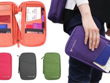 Large Capacity Multifunctional Passport Holder: One ($12) or Two ($19)