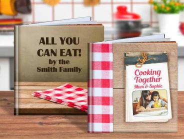 Gift Idea: Personalise a Soft or Hard Cover Recipe Book