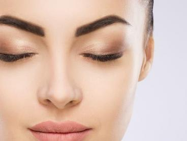 Brow Feathering or Microshading Cosmetic Tattoo in the CBD