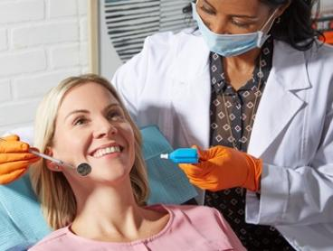 Dental Check-Up, Scale, Polish, Fluoride Treatment & X-Ray for One ($89) or Two Ppl ($169) at Martin Place Dental Clinic