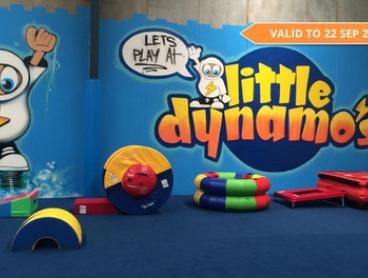 All-Day Entry for One ($8) or Two Children ($16) at Little Dynamo's, Alexandria (Up to $34 Value)