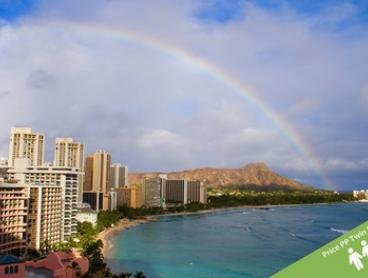 ✈ Honolulu, Hawaii: From $1,299 Per Person for 5 Nights at Coconut Waikiki Hotel + Brekky, Flights and Airport Transfers