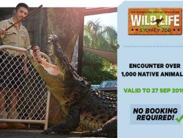 WILD LIFE Sydney: Child Aged 3-15 ($24.80) or Adult ($35.20) Entry, Darling Harbour (Up to $44 Value*)