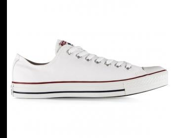Converse Chuck Taylor Unisex All Star Lo Top Shoe - Optic White