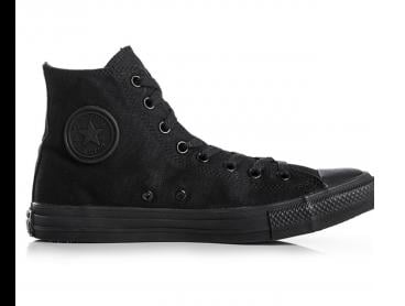 Converse Chuck Taylor Unisex All Star High Top Shoe - Monochrome Black