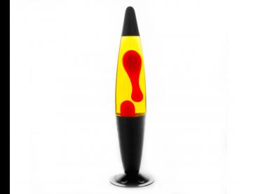 Peace Motion Lamp - Black/Red