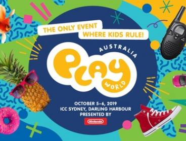 Play World Australia: Tickets from $31.95, 5-6 October, ICC Sydney Exhibition Centre