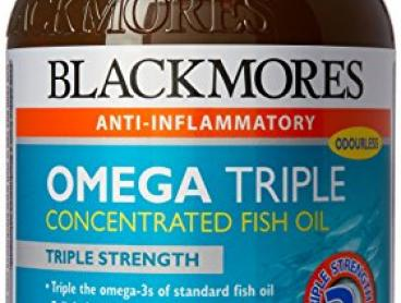 Blackmores Omega Triple Concentrated Capsules