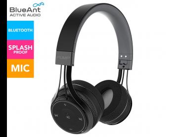 BlueAnt Pump Soul On-Ear Wireless Headphones - Black