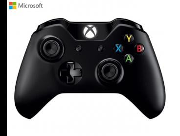 Microsoft Xbox One Controller + USB Play & Charge Cable - Black