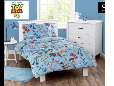 Disney Toy Story 4 Single Bed Quilt Cover Set