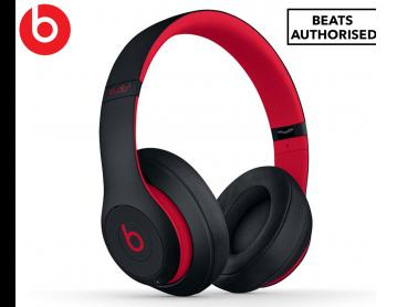 Beats Studio3 Bluetooth Wireless Over-Ear Headphones - Defiant Black/Red