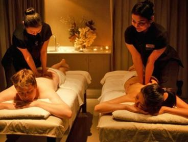 Massage Package: 70 Minutes for 1 ($65) or 2 Ppl ($129), or 130 Minutes for 1 ($135) or 2 Ppl ($269) at Varda Spa