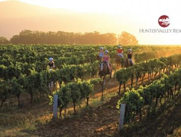Hunter Valley: One- or Two-Night Getaway for Two People at Hunter Valley Resort - Self Drive or take the Wine Train