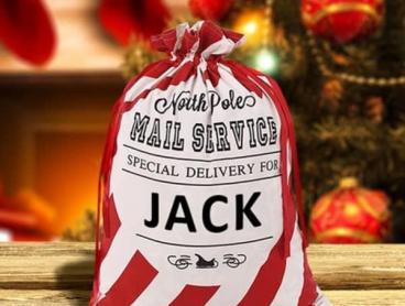 Personalised Christmas Sacks - Great Gift Idea!