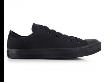 Converse Chuck Taylor Unisex All Star Low Shoe - Monochrome Black