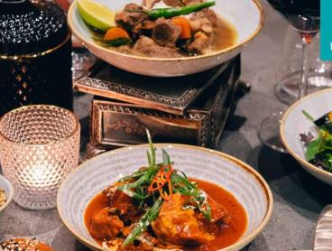 Credit for Indian Fusion Dining and Drinks in the CBD
