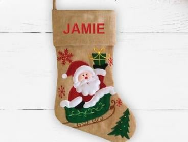 Create Your Own Personalised Christmas Stockings