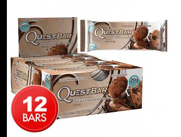 12 x Quest Protein Bars Double Choc 60g