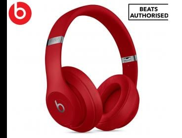 Beats Studio3 Bluetooth Wireless Over-Ear Headphones - Red