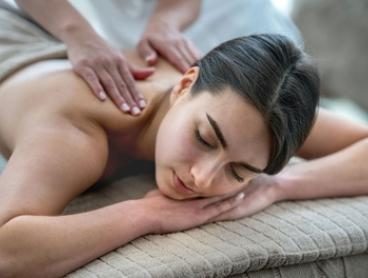 60-Min Spa Pkg ($118), or 90-MIn Spa Pkg ($148) with 2-Course Lunch & Wine ($188) at Spa in Sheraton Hotel (Up to $337)