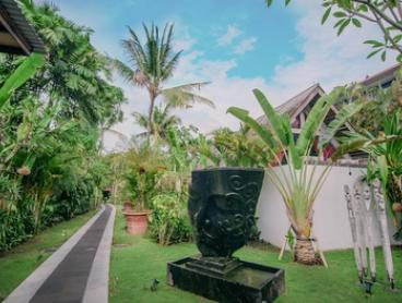 Bali: 3, 5 or 7 Nights for Two with Brekky, Airport Transfers, Beer and Massage at The Secret Jungle Villas Seminyak