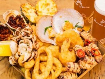 Seafood Platter with Beers at Sydney's Iconic Fish Markets