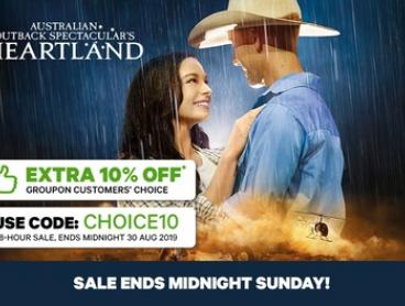 Australian Outback Spectacular - Three-Course Dinner, Show & Drinks - Tickets from $59.99