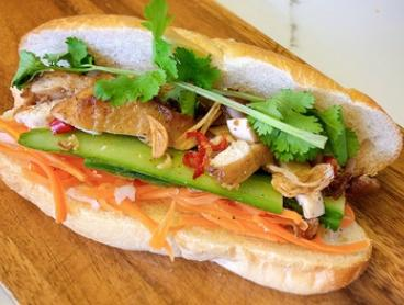 Vietnamese Banh Mi Roll ($9) or Pho with Drink ($12) at THÈM Authentic Vietnamese Cuisine and Rolls (Up to $16 Value)