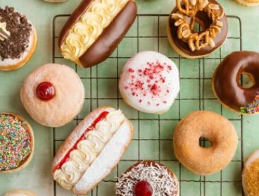 $14 for Box of Six Gourmet Doughnuts with Coffee at Walker's Doughnuts - Melbourne Central (Up to $23.70 Value)