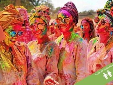 India: From $910 Per Person for 9-Day Holi Festival Tour on 6 March 2020 with Sightseeing and Transfers