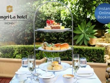 High Tea with Glass of Sparkling Wine for 2 ($69-$79) or 4 People ($138-$158) at The Lobby Lounge (Up to $220 Value)