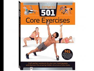 Hinkler Anatomy of Fitness: 501 Core Exercises Book