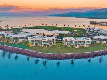 Tropical Stay on Samoa's Only Island Resort