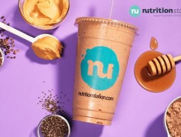 Regular Smoothie or Shake for 1 ($4.90) or 2 Ppl ($9.80) at Nutrition Station (Up to $19.90 Value)