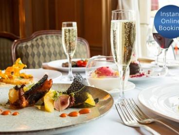 3-Course Menu + Sparkling Wine for 2 ($99), 3 ($149) or 4 Ppl ($195) at The Dining Room Sir Stamford (Up to $396 Value)
