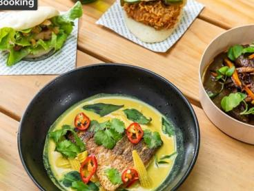 Two-Course Asian Feast with Beer in West End