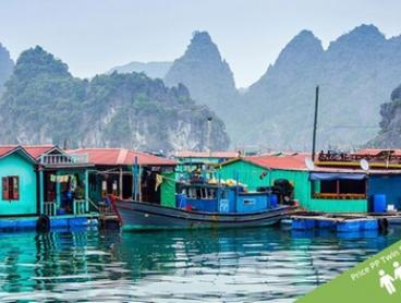 Vietnam and Cambodia: $1,539 Per Person for an 18-Day Tour with Meals, Tours and Transfers with Halong Tours Booking