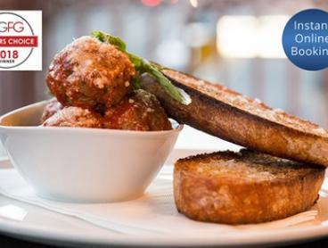 Four-Course AGFG Winner Italian Dinner with Wine for 2 ($69) or 4 People ($138) at Osteria Antica (Up to $262 Value)