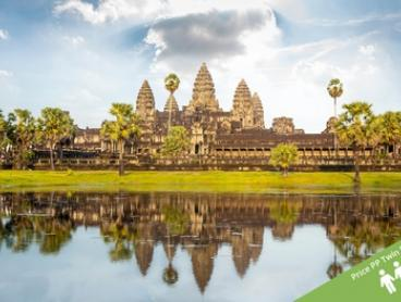 Vietnam and Cambodia: $1,199 Per Person for a 15-Day Tour with Accommodation and Cruise with Halong Tours Booking