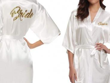 Get Ready for the Big Day with Personalised Bridal Robes