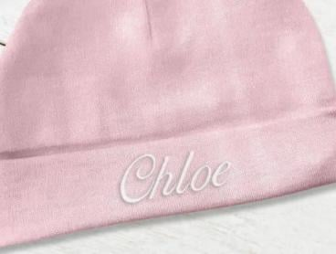 Personalised Baby Gifts - Beanies, Bibs and Blankets