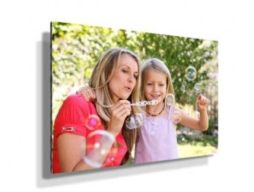 Personalised Ready-to-Hang Glass or Metal Photo Print