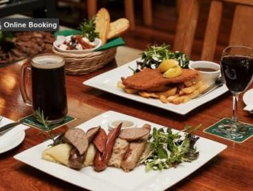 Two-Course German Meal with Wine or Beer in the Swan Valley