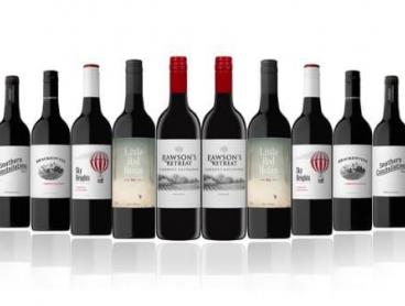 12 Mixed Australian Red Wines Including Penfolds, Delivered