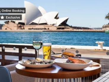 Exclusive! Circular Quay Waterfront Dining with Wine or Beer