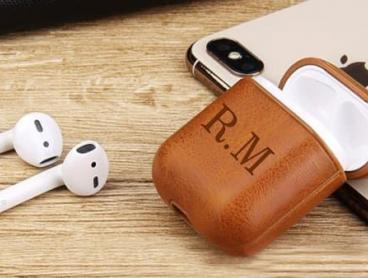 Personalised Faux Leather Cases for Your Airpods